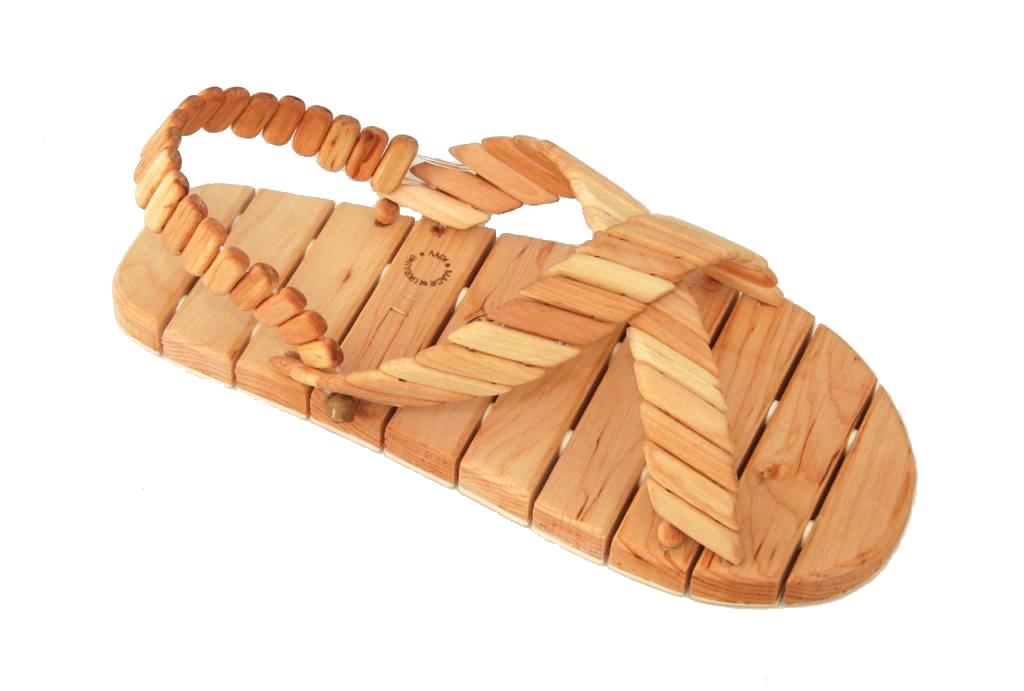 Деревянная обувь своими руками 195